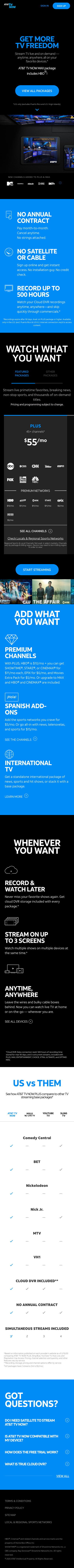 AT&T TV Now Coupon