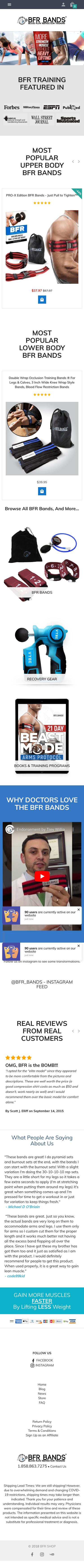 BFR Bands Coupon