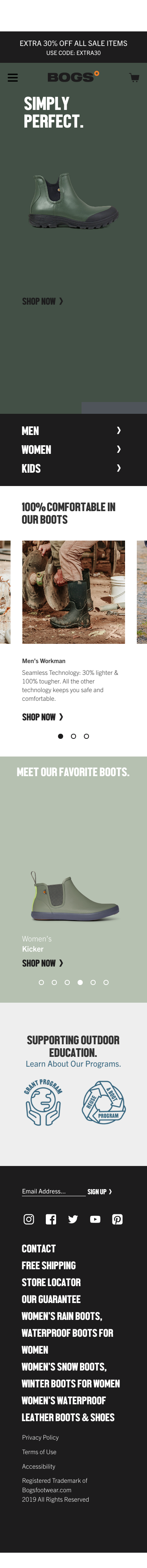 Bogs Footwear Coupon