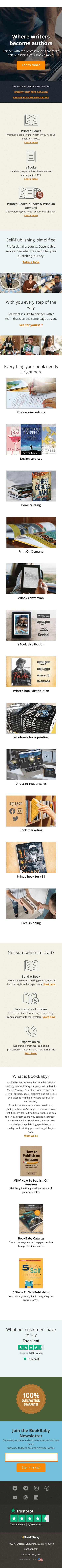 BookBaby Coupon
