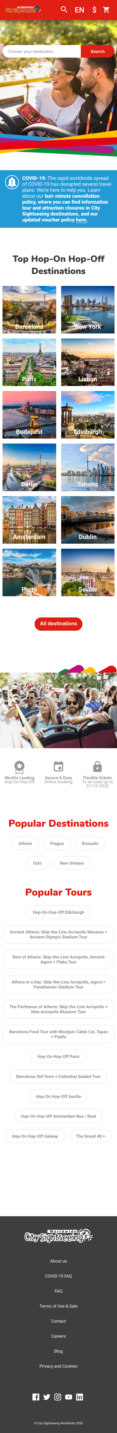 City Sightseeing Coupon