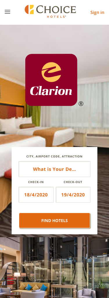 Clarion Hotel by Choice Hotels Coupon