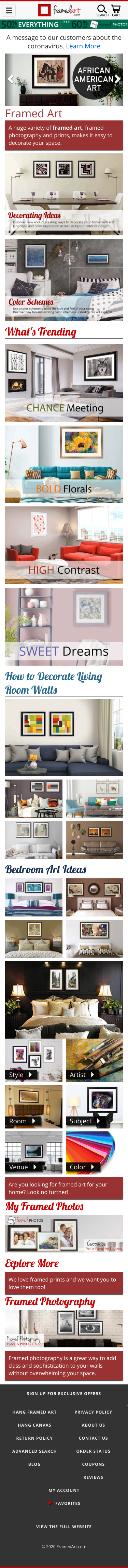 FramedArt.com Coupon