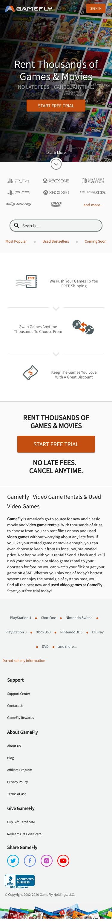 GameFly Coupon