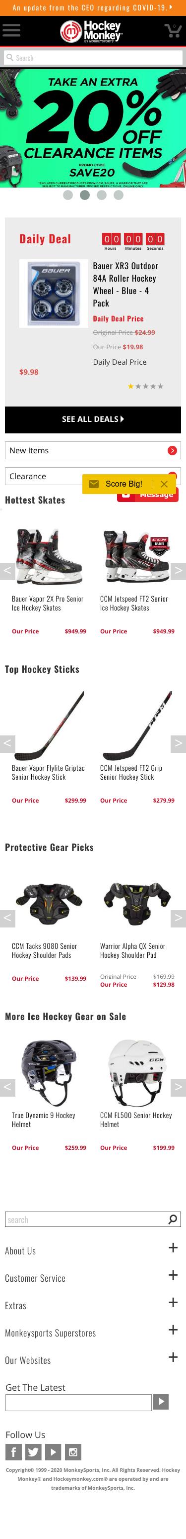 HockeyMonkey.com Coupon