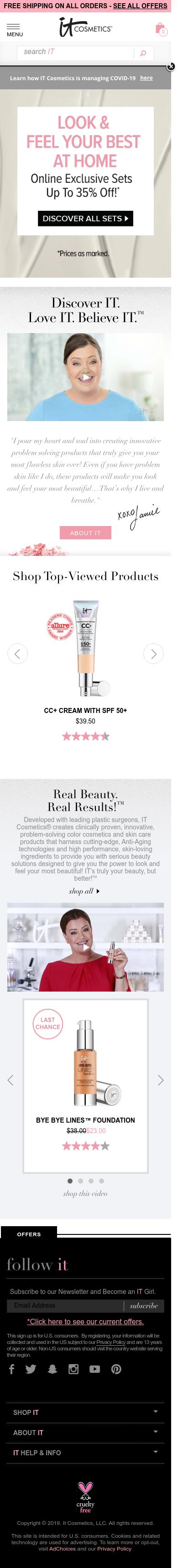 IT Cosmetics Coupon