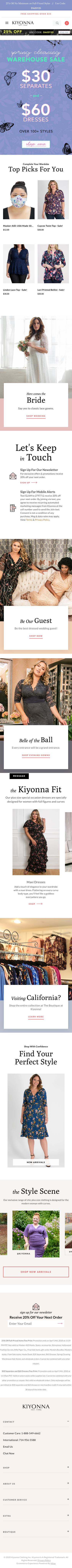 Kiyonna Coupon