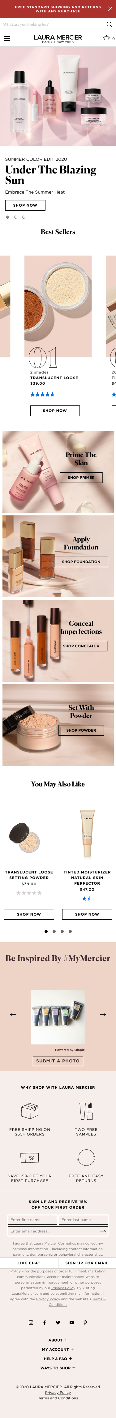 Laura Mercier Coupon