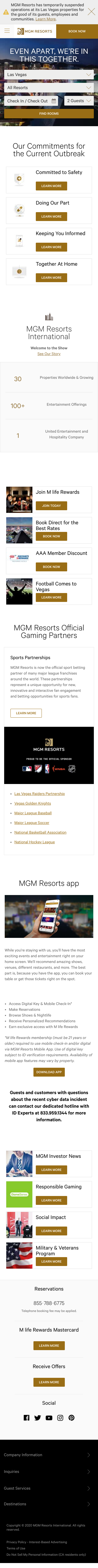 MGM Resorts Coupon