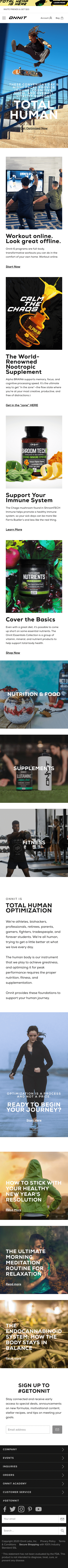 Onnit Coupon