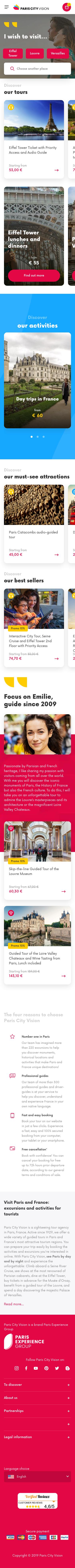 ParisCity Vision Coupon