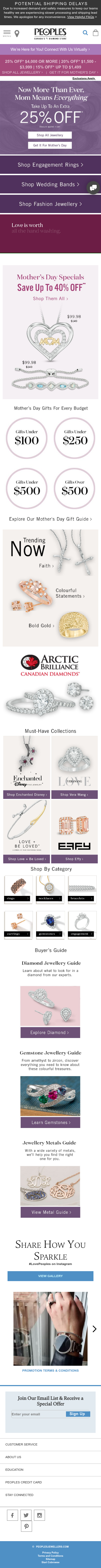 People's Jewellers Coupon