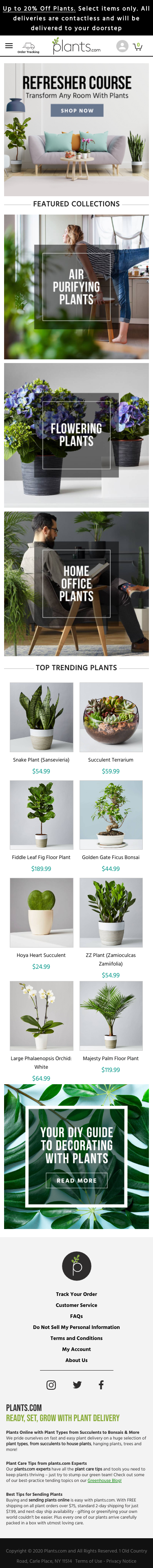 plants.com Coupon