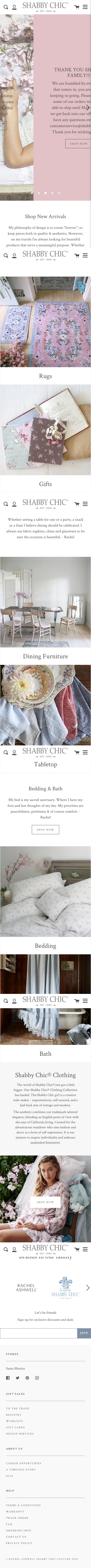 Rachel Ashwell Shabby Chic Couture Coupon