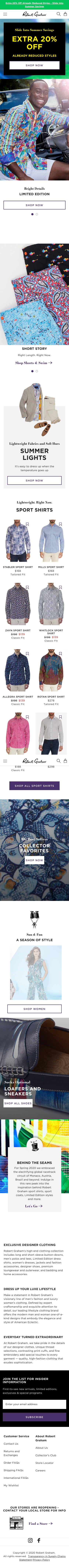 Robert Graham Coupon