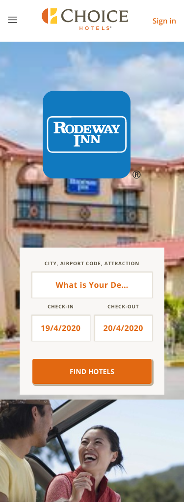 Rodeway Inn by Choice Hotels Coupon