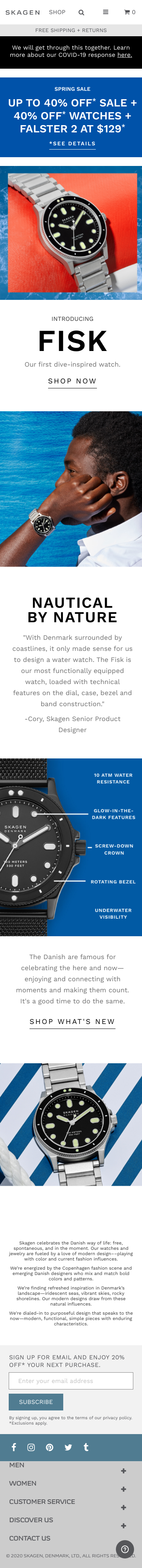 Skagen Coupon