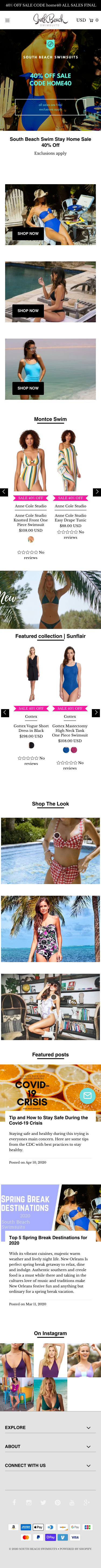 South Beach Swimsuits Coupon