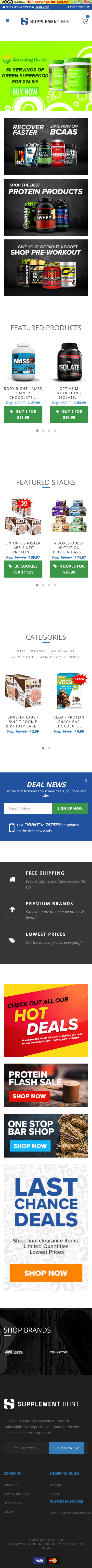 Supplement Hunt Coupon