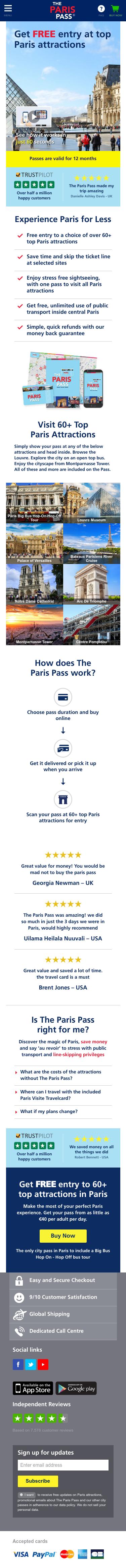 The Paris Pass Coupon