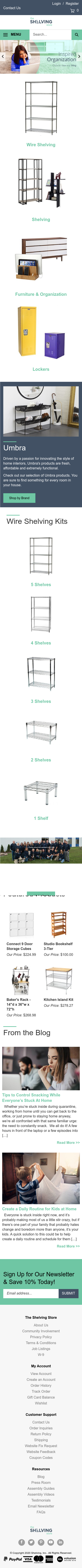 The Shelving Store Coupon