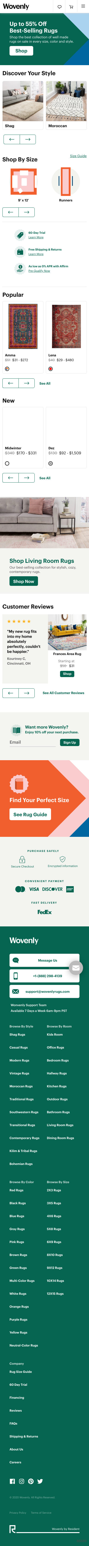Wovenly Rugs Coupon