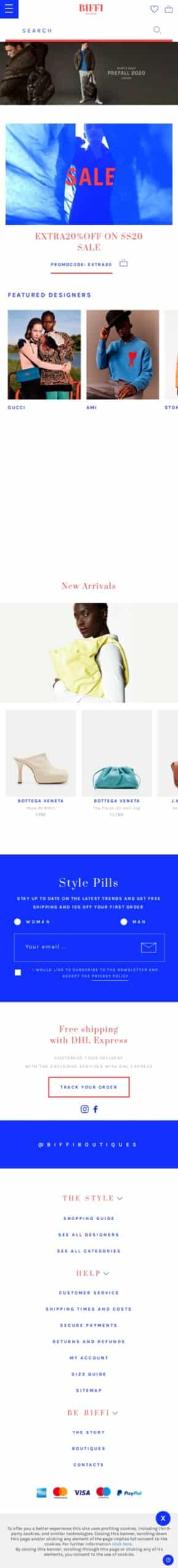 Biffi.com Coupon