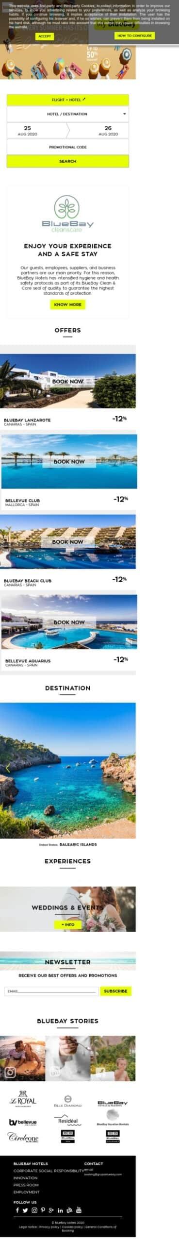 blue bay resorts Coupon