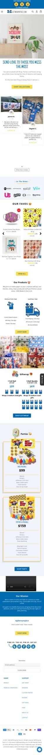GiftWrapMyFace Coupon