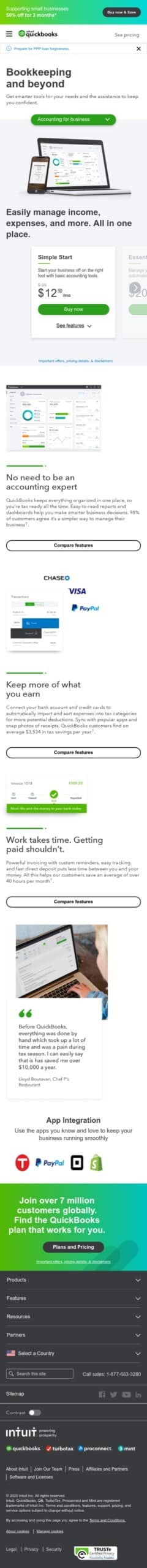Intuit QuickBooks Desktop Coupon