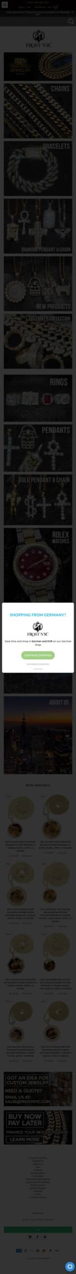 frostnyc.com Coupon