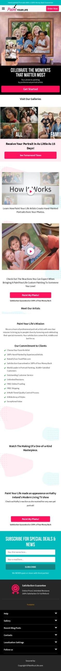 paintyourlife.com Coupon