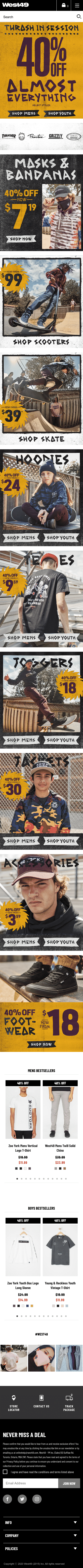 West 49 Coupon