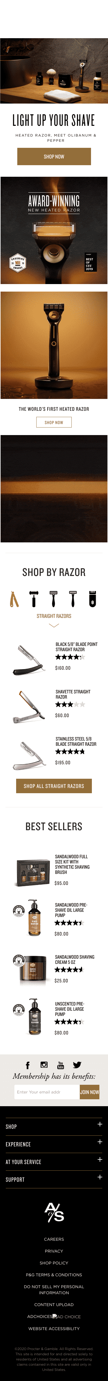 The Art of Shaving Coupon