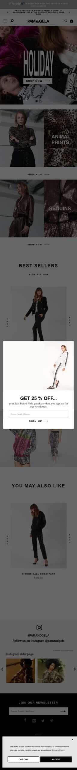 Branded Online- Pam & Gela Coupon