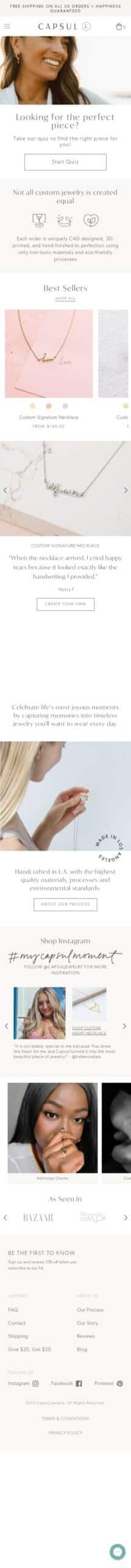 Capsul Jewelry Coupon