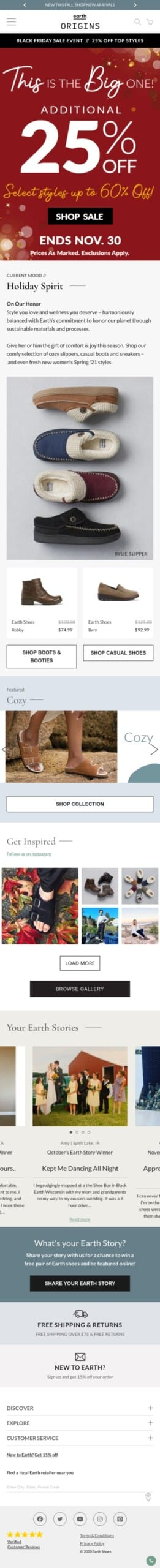 Earth Shoes Coupon