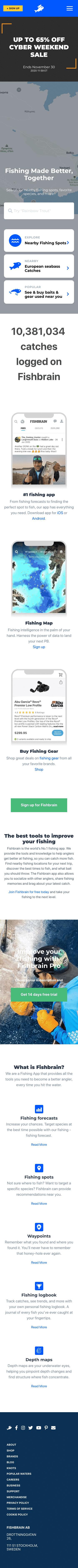 Fishbrain AB Coupon