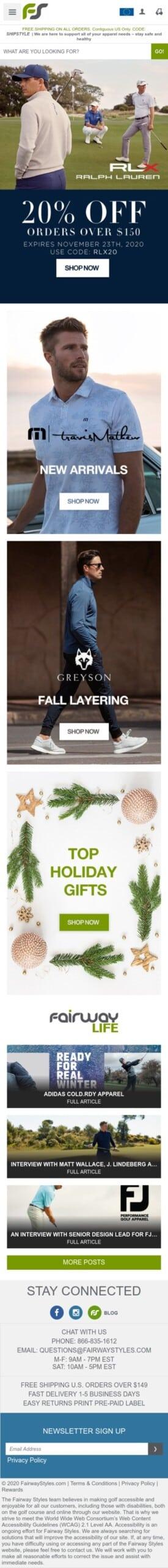 Global Value - FairwayStyles: fairway styles Coupon