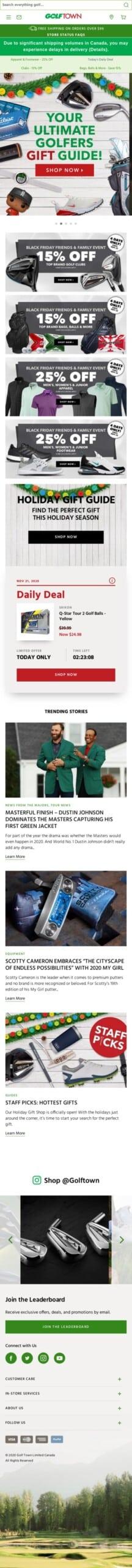 golftown.com Coupon