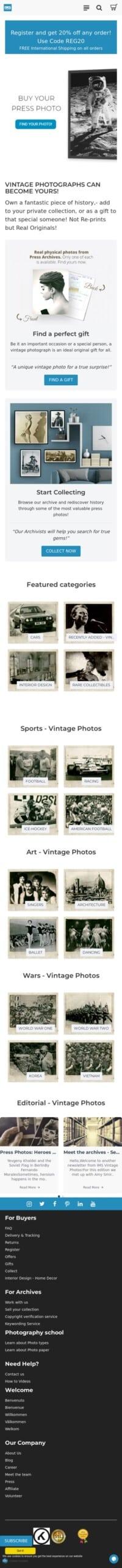 IMS Vintage Photos Coupon