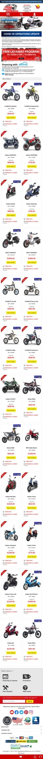 Mega Motor Madness Coupon