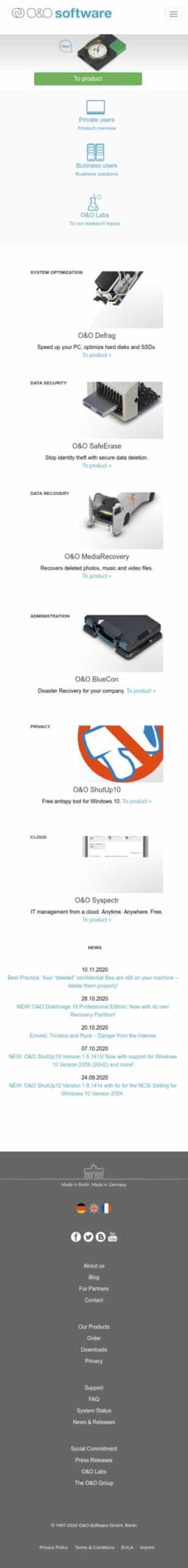 O&O Software Coupon