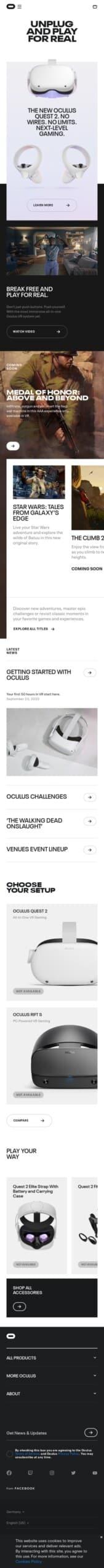 Oculus Coupon