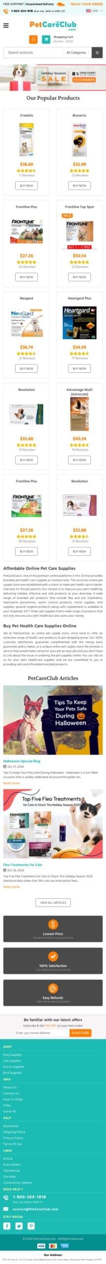 PetCareClub.com Coupon