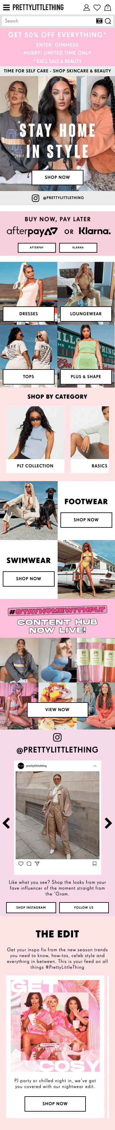 PrettyLittleThing (US) Coupon