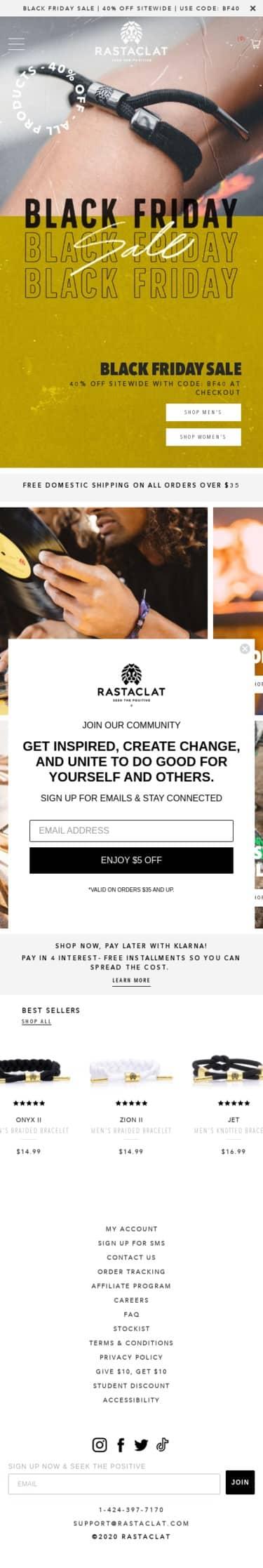 Rastaclat Coupon