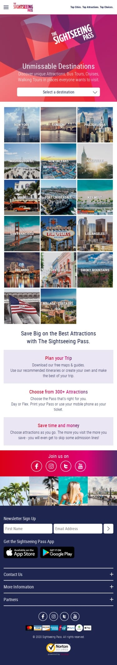 Sightseeing Pass Coupon