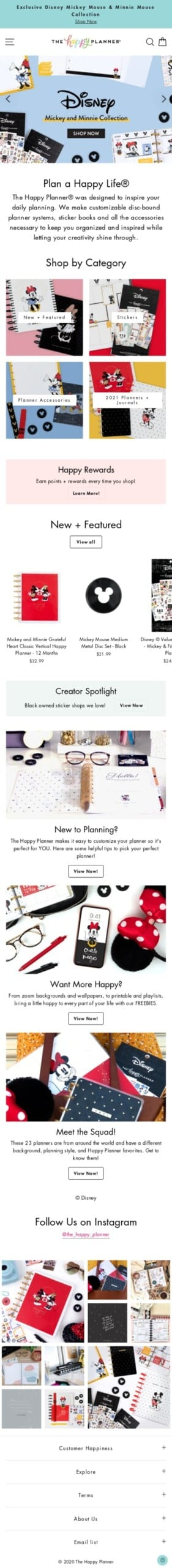 The Happy Planner Coupon