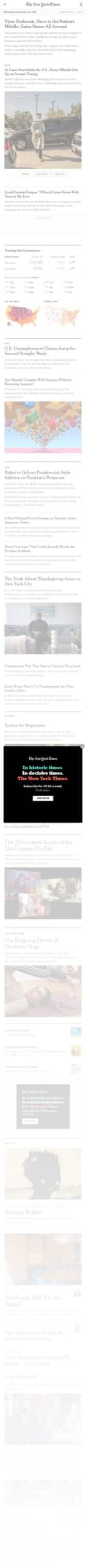 The New York Times Company Store Coupon